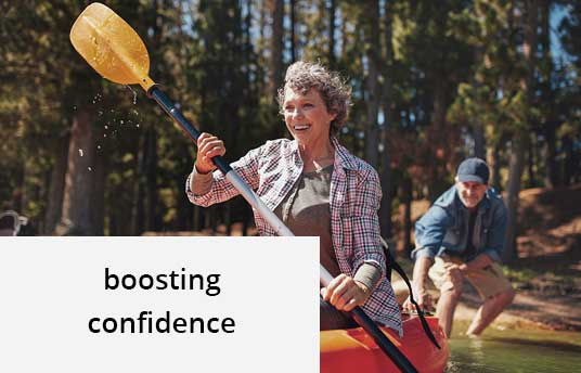the yellow couch - boosting confidence